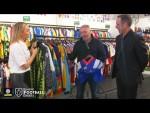 Ally McCoist and David Seaman discuss their careers through classic football kits