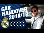 Real Madrid receive new AUDI cars