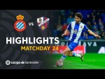 Highlights RCD Espanyol vs SD Huesca (1-1)