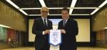 AFC President hails Japan football during visit