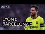 LYON 0-0 BARCELONA #UCL HIGHLIGHTS