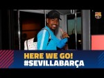 Trip to Sevilla ahead of the match against Sevilla