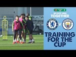 PREPARING FOR WEMBLEY | Carabao Cup Final | Training