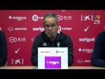 Rueda de prensa de Álvaro Cervera tras el Nàstic vs Cádiz CF (2-3)