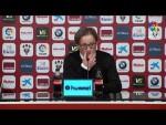 Rueda de prensa de Anquela tras el Albacete BP vs Real Oviedo (0-0)
