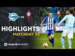 Highlights Deportivo Alaves vs RC Celta (0-0)