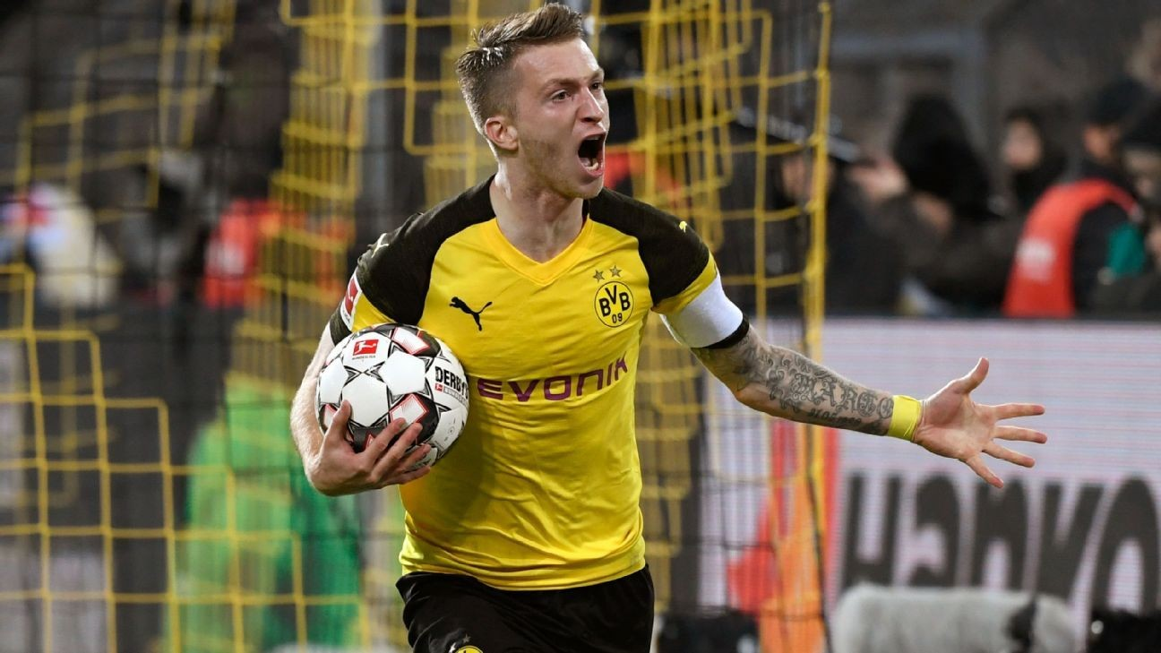 Borussia Dortmund boss: Marco Reus expected back for next weekend