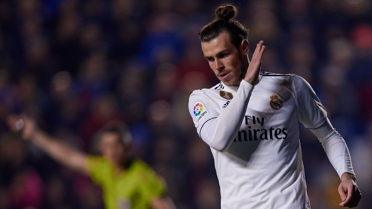 4e6aca981 Real Madrid's Bale not bothered by 'rubbish' criticism - agent ...