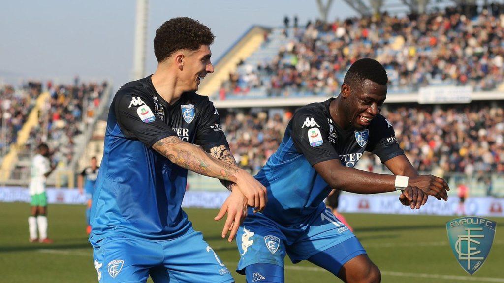 Empoli star Afriyie Acquah dedicates goal against Sassuolo to his mother