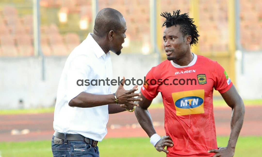Kotoko coach C.K Akunor wants better defending from his players ahead Zesco clash