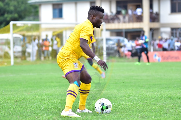Medeama part ways with defender Amos Korankye