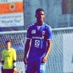 Ghanaian defender Bennash Quansah sees red in Flamurtari's victory over Prishtina in Kosovo