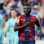 Emmanuel Boateng bids farewell to Levante after completing Dalian Yifang move