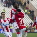 VIDEO: Watch Richmond Boakye's BRACE in Red Star Belgrade thumping of Vojvodina