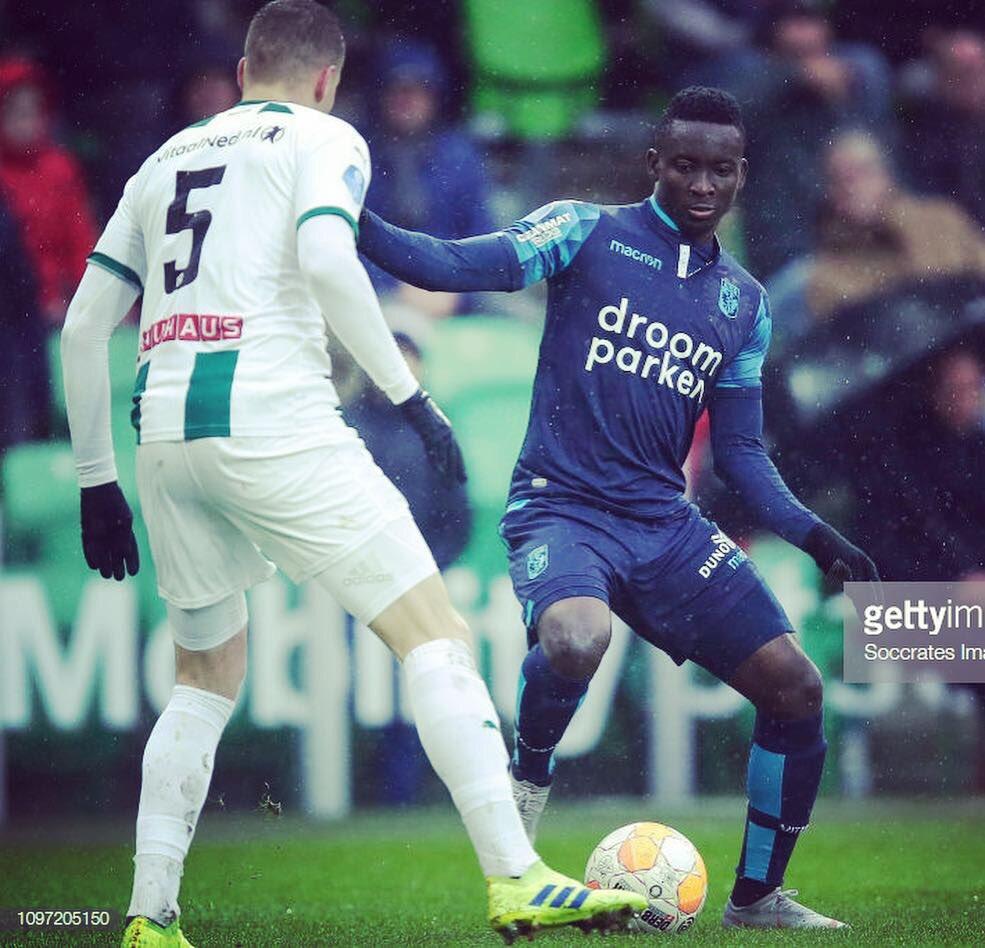 Mohammed Dauda debuts for Dutch side Vitesse Arnhem in Eredivisie defeat