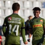 VIDEO: Godsway Donyoh tallies TEN goals in Danish Superliga as Nordsjaelland win big away