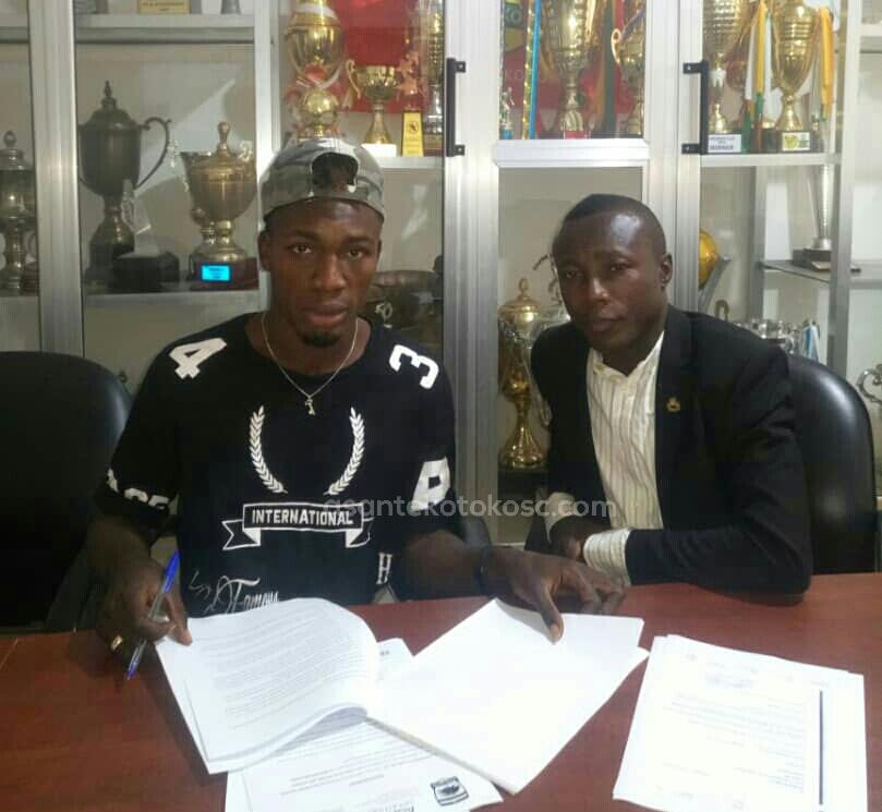 Habib Mohammed grateful to Ashantigold after Kotoko move