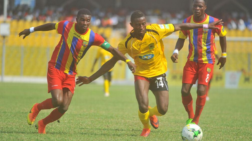 No Ghanaian club in Top 20 of African club rankings; Kotoko 35th, Hearts ranked 98th