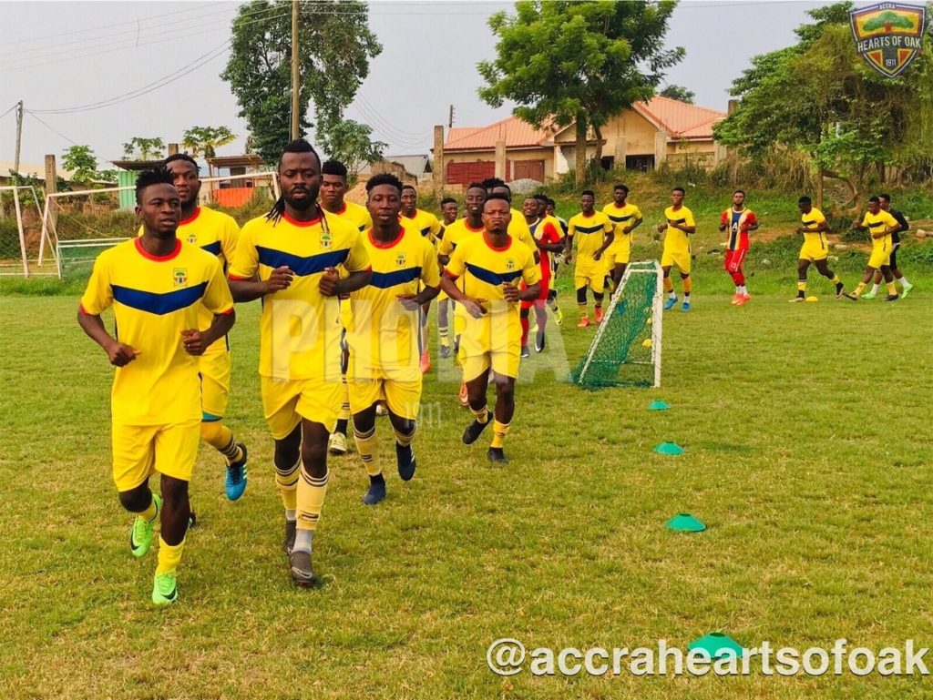 Manaf Umar grabs brace as Hearts of Oak beat Liberty Professionals in friendly