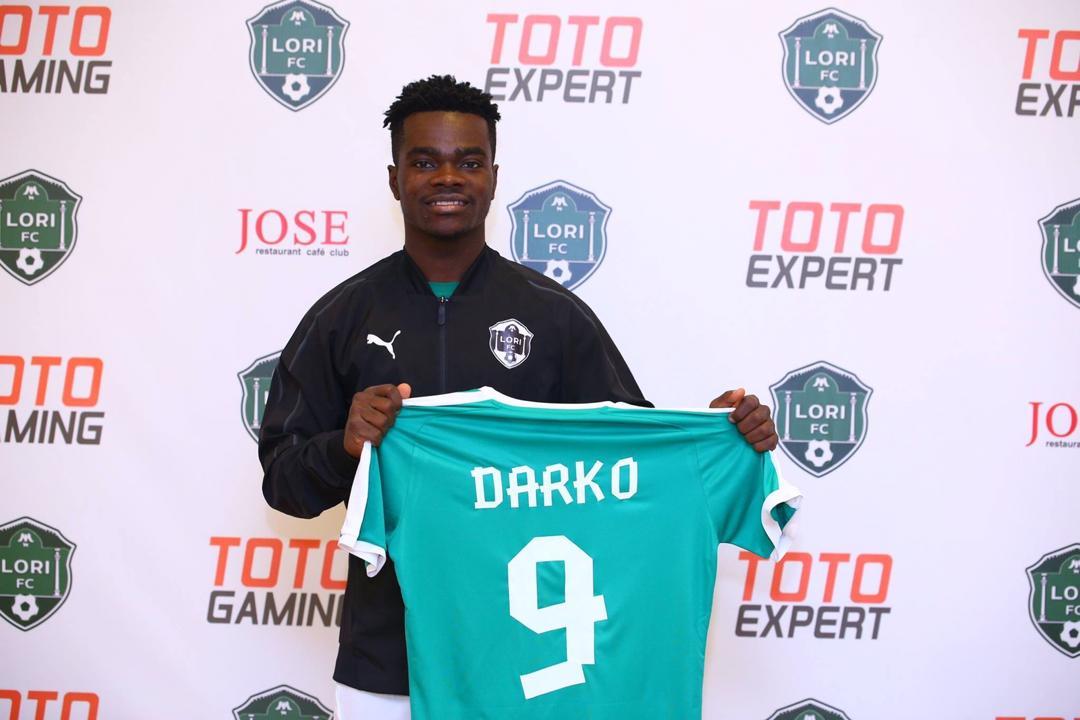 Enoch Darko joins Armenian side Lori FC
