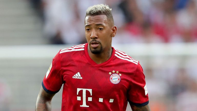 Jerome Boateng to miss Bayern Munich-Liverpool clash in UEFA Champions League