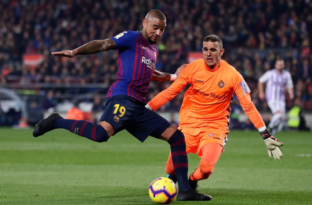 Kevin-Prince Boateng comes up short to prove why he is not a Barcelona-class player