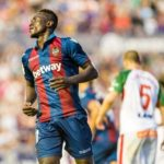Levante sold forward Emmanuel Boateng for 11 million Euros to Dalian Yifang