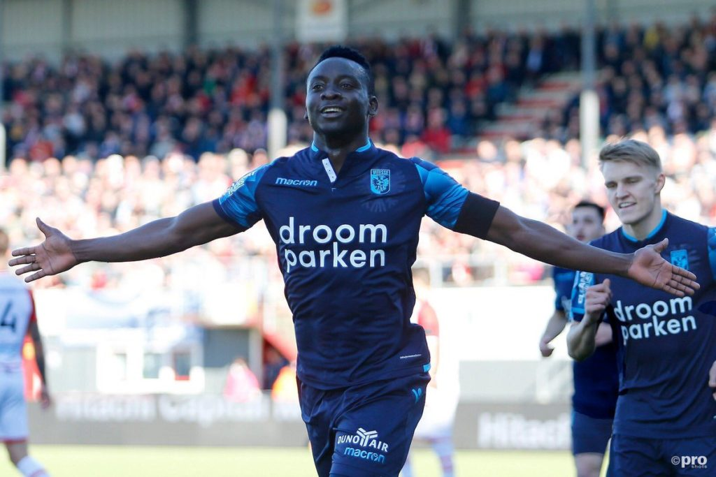 VIDEO: Watch's Dauda Mohammed's debut goal for Dutch side Vitesse Arnhem