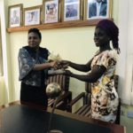 Black Maidens forward Abdulai Mukarama receives World Cup awards