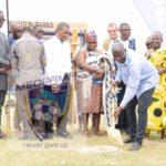 Sod cutting marks start of Medeama new stadium construction