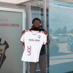 VIDEO: Watch Sulley Muntari's arrival at Castile–La Mancha to join Albacete