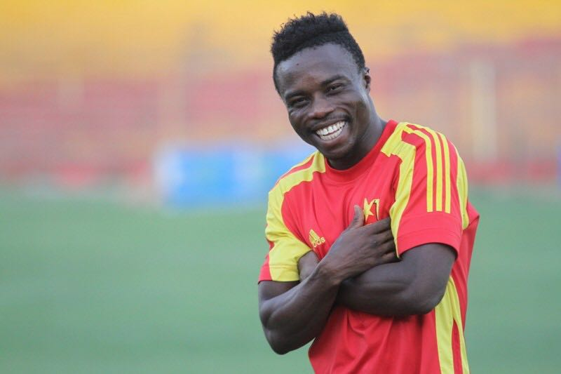 Former Ghana Premier League MVP Augustine Okrah wanted by AshantiGold and Hearts of Oak