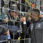 "Ghanaian forward Prince Owusu ""feels emotional"" after scoring debut goal for 1860 Munich"