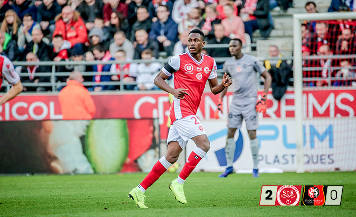 Baba Rahman marks Stade Reims debut with victory over Rennes
