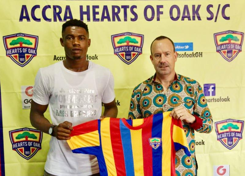 Richmond Ayi reveals reason for joining Hearts of Oak