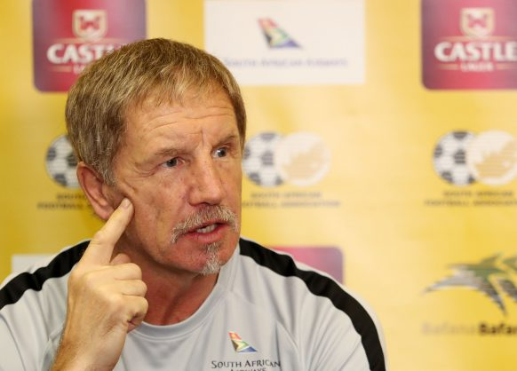 Stuart Baxter to quit if Bafana fail to qualify for 2019 AFCON