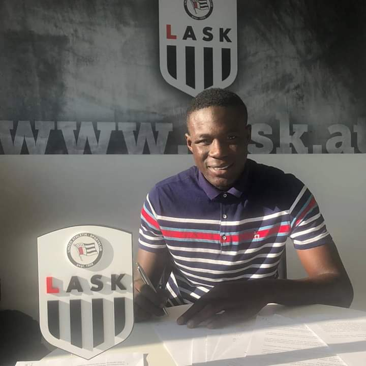 Ghana U20 captain Issahaku Konda pens three-year deal with Austrian side LASK Linz