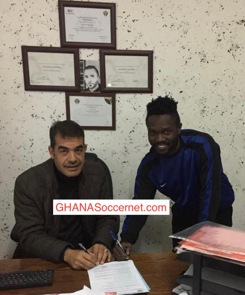 Ex-Wa All Stars midfielder Nasiru Moro joins Sahab FC on a three-year deal