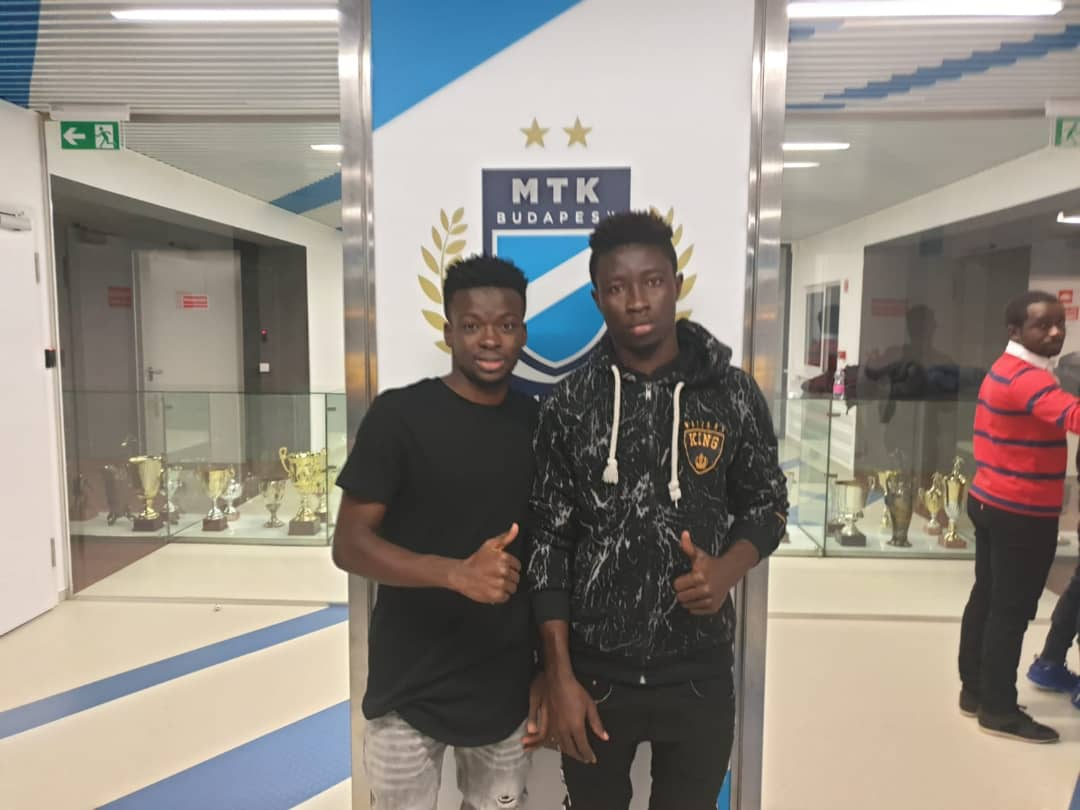 EXCLUSIVE: Hungarian side MTK Budapest sign Liberty Professionals right back Nasiru Banahene