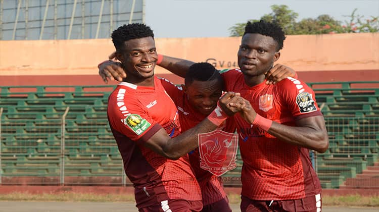 Report on Ghanaian players abroad in CAF Champions League and Confederation Cup