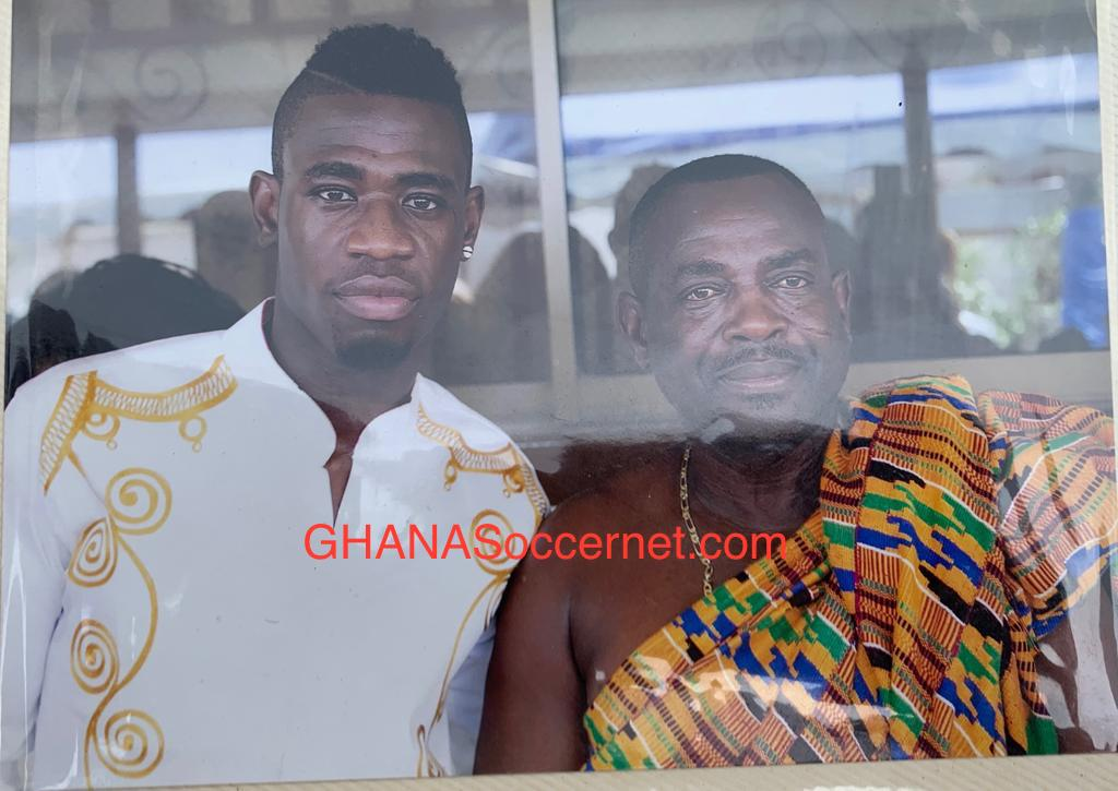 Afriyie Acquah's father dies aged 62