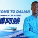 OFFICIAL: Emmanuel Boateng finalizes move to Chinese Super League side Dalian Yifang