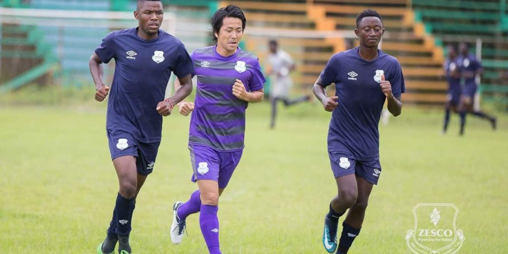 Zesco United includes Japanese midfielder Kosuke Nakamachi in CAF CC squad ahead of Kotoko clash