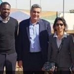 Samson Adamu leads CAF's AFCON inspection team