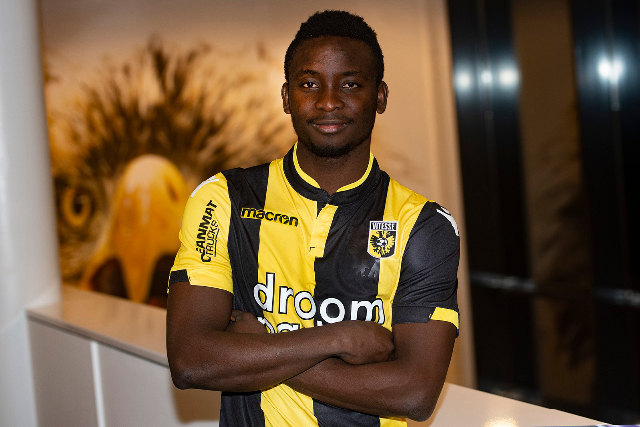 EXCLUSIVE: Ex-Kotoko striker Dauda Mohammed finally gets Dutch work permit to play for Vitesse