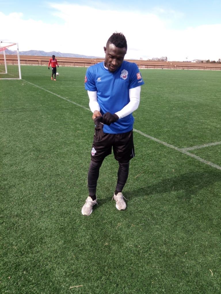 Former Medeama defender Ibrahim Yaro settling in well at Colorado Springs Switchbacks FC