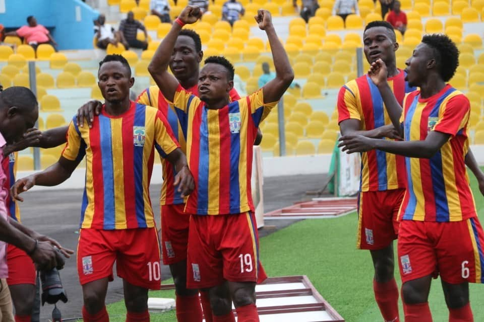 Hearts beat All Blacks 2-0 to win Abena Agyeiwaa Memorial Cup