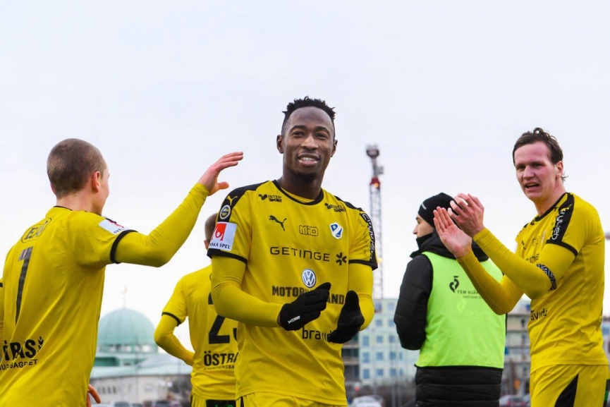 Ghana's Karim Sadat bags brace in Halmstads BK win over IK Sirius in Swedish Cup