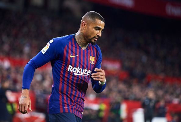 Boateng 'happy' despite lack of play time at Barcelona