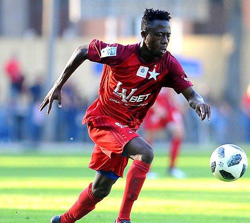 Wisla Krakow supporter bought Ghana U20 midfielder Kumah for Polish club